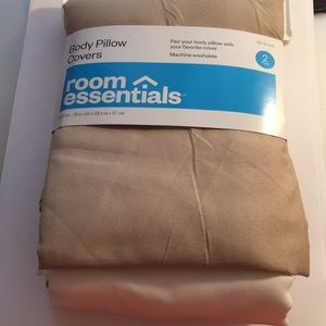 New Room Essentials Body Pillow Covers